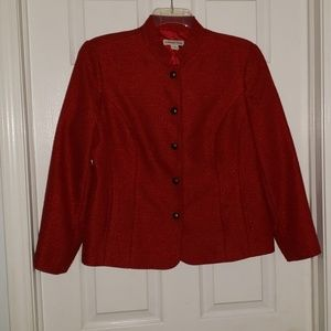 🌺Womens red blazer.